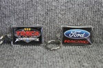 Two sided key chain Ford Racing/Tasca Racing