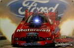 Ford Motorcraft Funny Car Sign