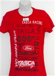 BOB TASCA III FORD RACING RED TEE SHIRT NITRO FUNNY CAR Full Front